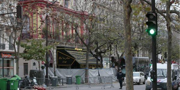 Le Bataclan après les attentats