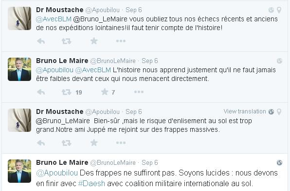 Le Maire Twitter