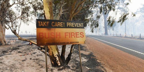 Les incendies de bush sont légion en Australie de l'ouest.