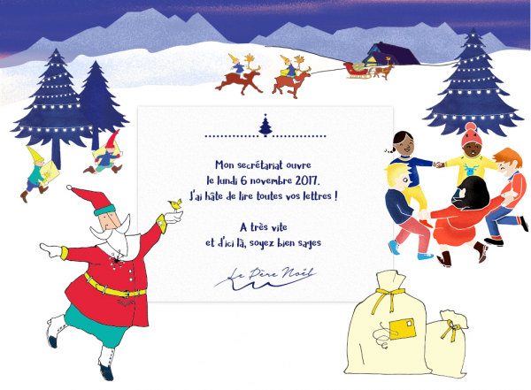 Une Lettre De Pere Noel.Le Pere Noel Ouvre Lundi Son Secretariat Pour Repondre Aux