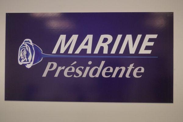 Logo de campagne de Marine Le Pen