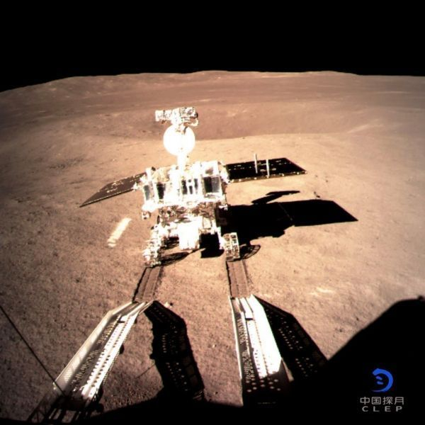 Lune, sonde chinoise crédit : CHINA NATIONAL SPACE ADMINISTRATION (CNSA) VIA CNS / AFP - 1280