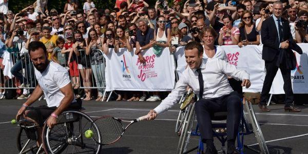 Macron-handi-tennis