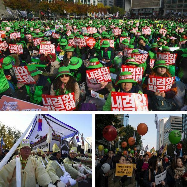 Manif Séoul 2