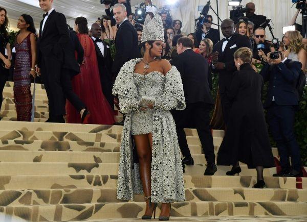 Met Rihanna crédit : ANGELA WEISS / AFP