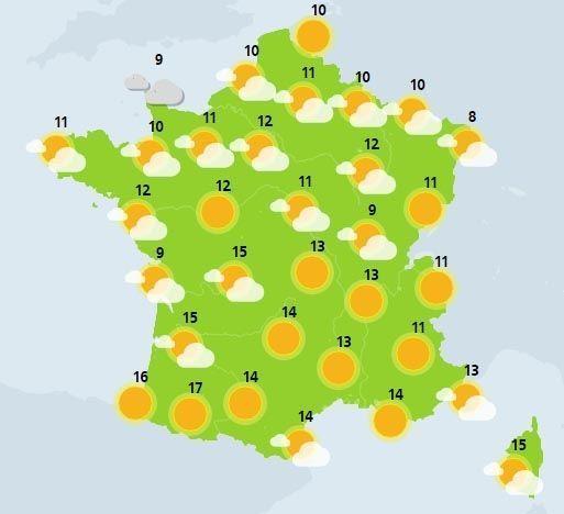 météo du 20 février crédit : Météo France