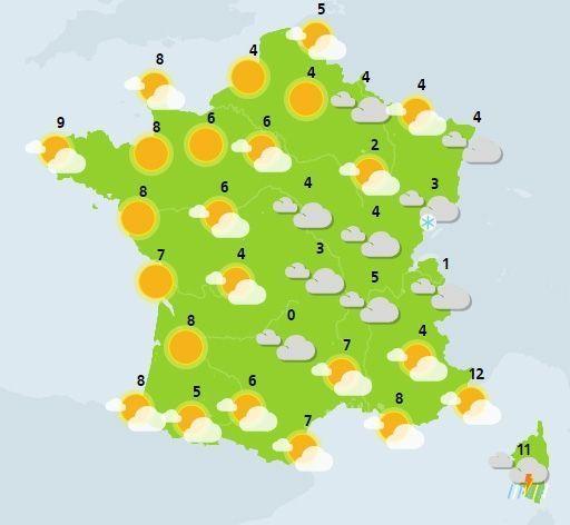 météo du 3 février crédit : Météo France