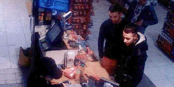 Mohamed Abrini et Salah Abdeslam