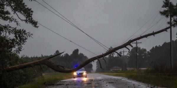 ouragan Florence crédit : MARK WALLHEISER / GETTY IMAGES NORTH AMERICA / AFP - 640