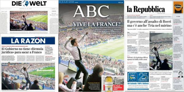 Photo Macron presse