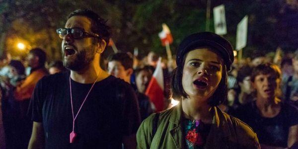 Pologne, Varsovie, manifestation crédit : WOJTEK RADWANSKI / AFP PHOTO / AFP - 1280