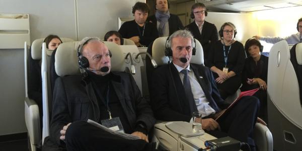 président Air France 747