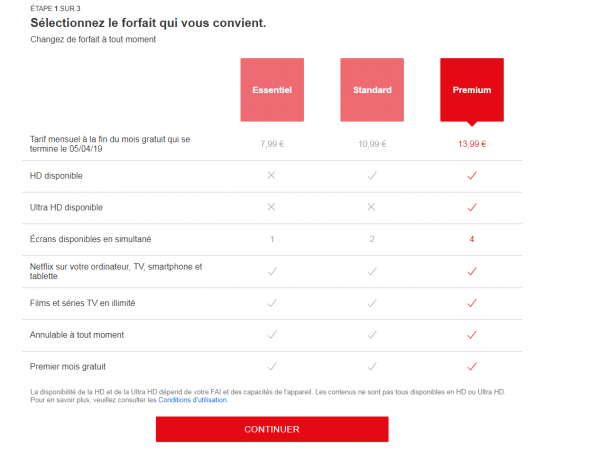 Streaming: Netflix teste des prix plus élevés selon le navigateur de recherche