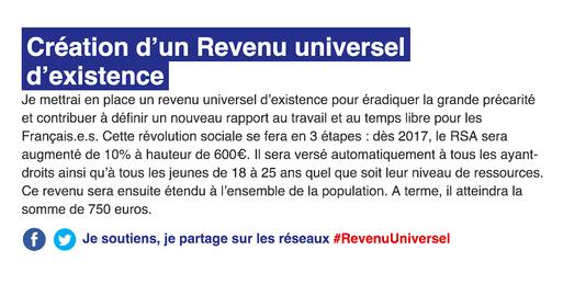 Revenu universel Hamon 1