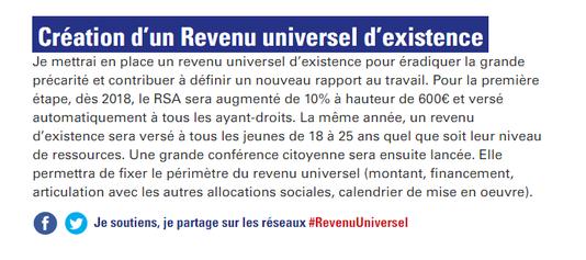 Revenu universel Hamon 2