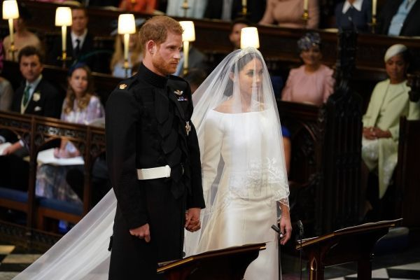 robe Meghan Markle crédit : ANDREW MATTHEWS / AFP