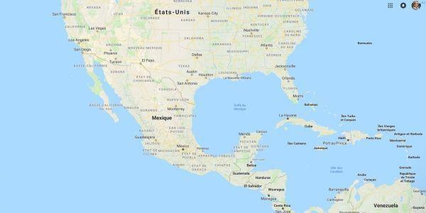 Salvador, États-Unis, migrants crédit : Capture d'écran Google Street View