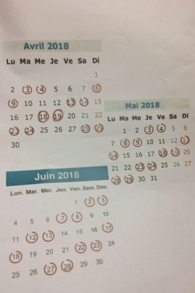 Sncf Decouvrez Le Calendrier Previsionnel De La Greve