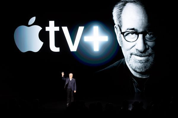 Steven Spielberg va collaborer avec Apple pour une série. Michael Short / GETTY IMAGES NORTH AMERICA / AFP