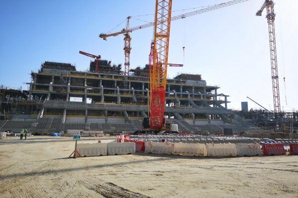 Stade de Lusail au Qatar (960x640) Julien FROMENT/Europe 1