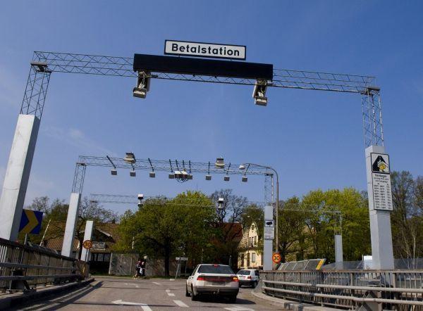 stockholm, péage crédit : LEIF R JANSSON / SCANPIX SWEDEN / AFP