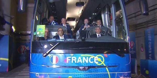 Supporters français et portugais (1280x640) Capture d'écran BeIN Sports