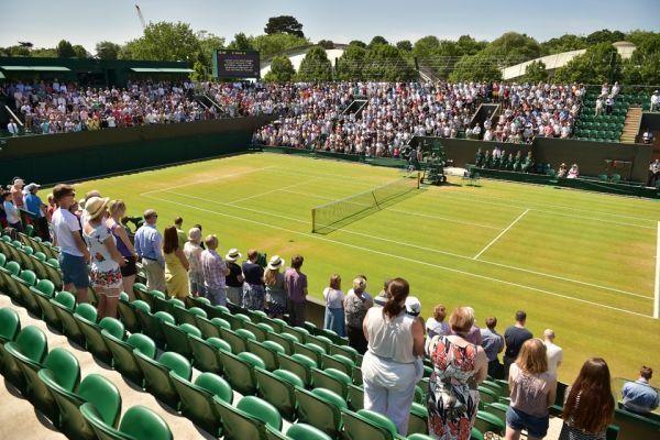 Terrain de Wimbledon
