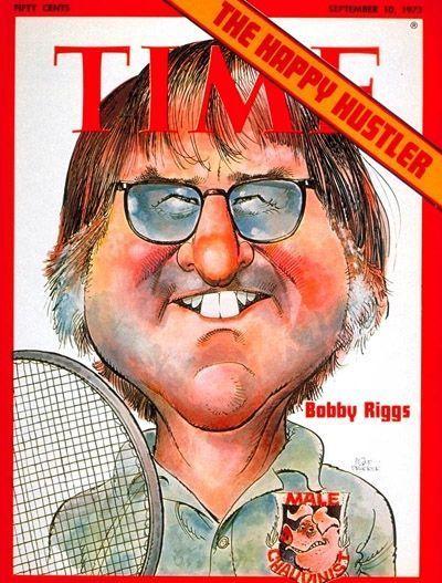 Time Magazine Bobby Riggs