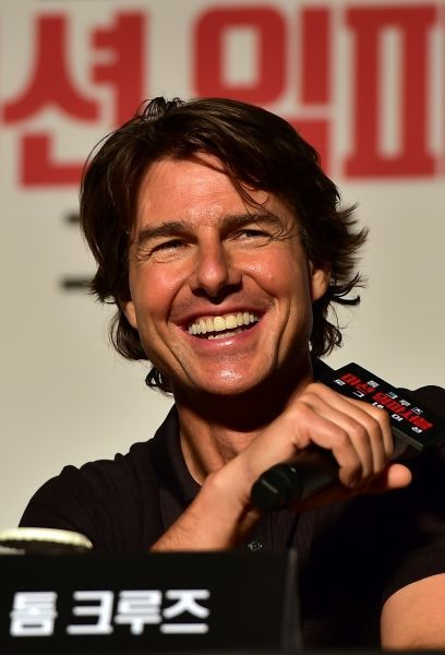 tom cruise JUNG YEON-JE  AFP