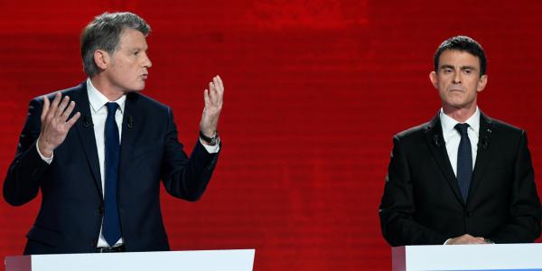 Valls Peillon débat
