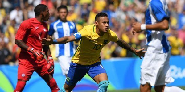 VIDEO-JO-de-Rio-2016-Football-Neymar-marque-le-but-le-plus-rapide-de-l-histoire-des-Jeux-puis-se-blesse