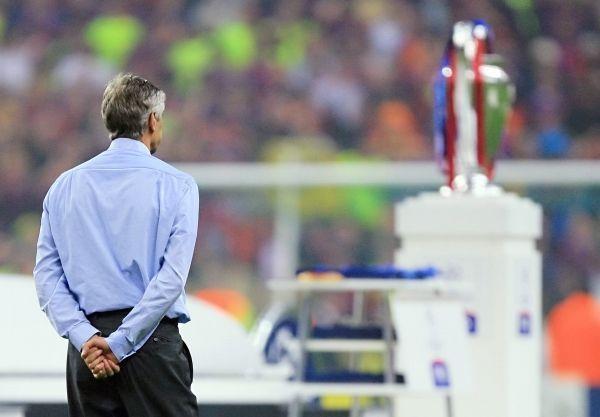 Arsène Wenger n'a jamais remporté la Ligue des Champions. © ODD ANDERSEN / AFP