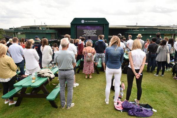 Wimbledon silence