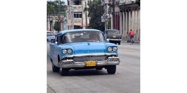 Cuba voiture illustration - AFP - 640x640