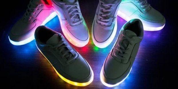 Les Sont Chaussures Elles Dangereuses Lumineuses E9IDH2
