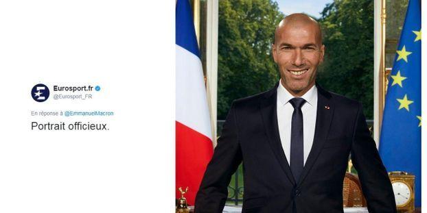 Portrait Officiel D Emmanuel Macron Le Top 10 Des Detournements