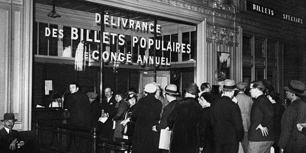 Les Francais Et Leurs Conges Payes 80 Ans D Histoire