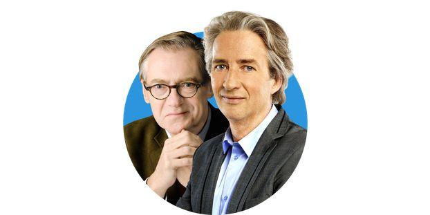 Nicolas Poincaré et Eric Le Boucher