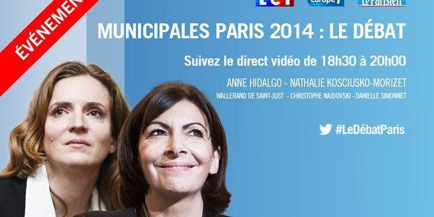Municipales 2014 Paris Le Debat