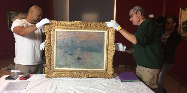 """""""Impression Soleil Levant"""", le célèbre tableau de Monet, rejoint Le Havre"""