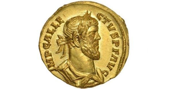 Londres : adjugée 620.000 euros, cette pièce romaine a été trouvée dans un champ