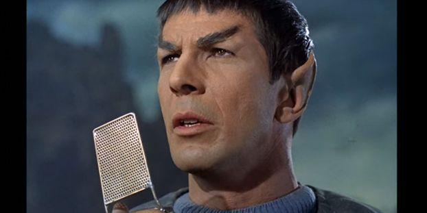 Le communicator utilisé par Mr Spock dans le 1er épisode de