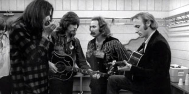 Woodstock, 50 ans après : Crosby, Stills, Nash and Young, carré d'as