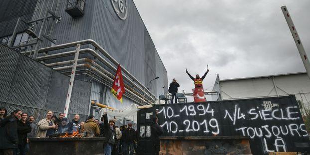 General Electric Belfort : 2.000 personnes manifestent contre le plan social