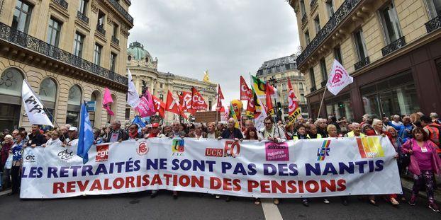 Hausse De La Csg Les Retraites De Nouveau Appeles A Manifester Le