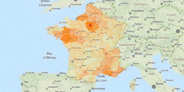 Pénurie de carburant : la carte de France des départements où l'essence manque encore