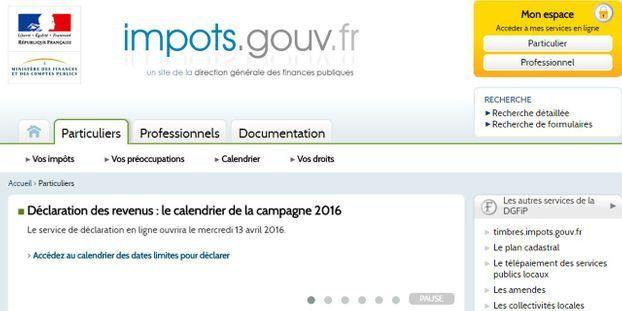 La Declaration De Revenus En Ligne Obligatoire Pour Certains Francais