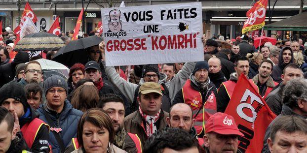 2d74c6e5eb5 Loi Travail   une mobilisation plus forte que le 9 mars