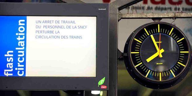 Grève SNCF 2018 : le calendrier des jours concernés jusqu'au jeudi