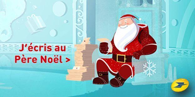 La Poste Pere Noel Vous pourrez écrire dès maintenant au Père Noël !